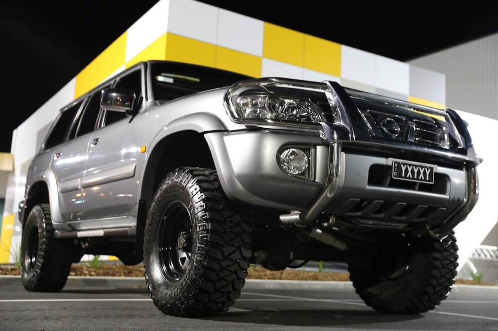 nissan patrol ti 4 8 litre direct injected s6 prestige car rentals