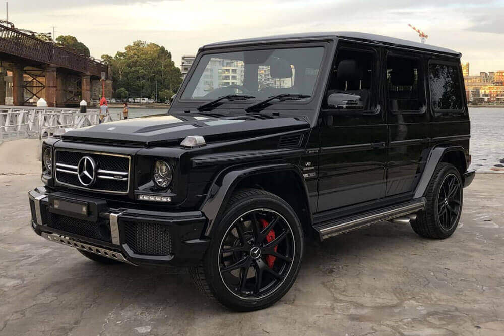 Mercedes G63 Wagon