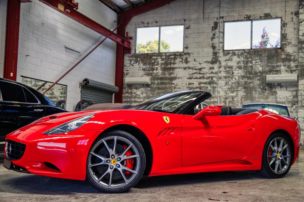 Ferrari California Convertible - 4.3L V8 Petrol