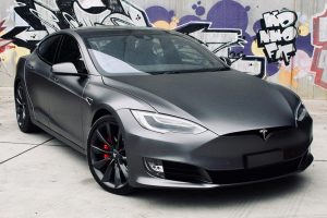 Tesla Model S P100D </br>Electric motor