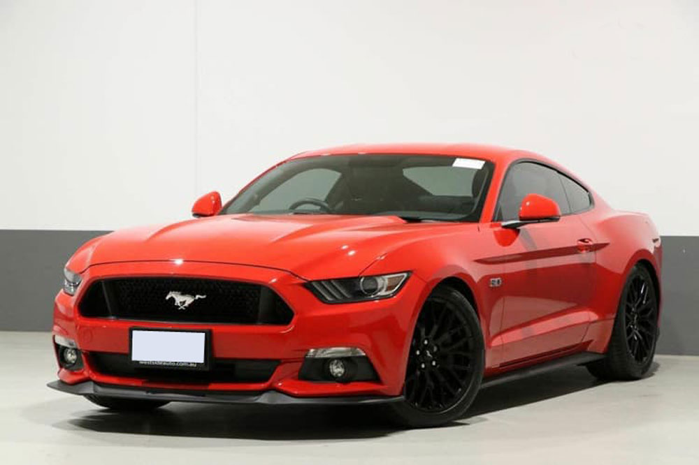 Ford Mustang </br> 3.9LTwin Turbo Intercooled V8