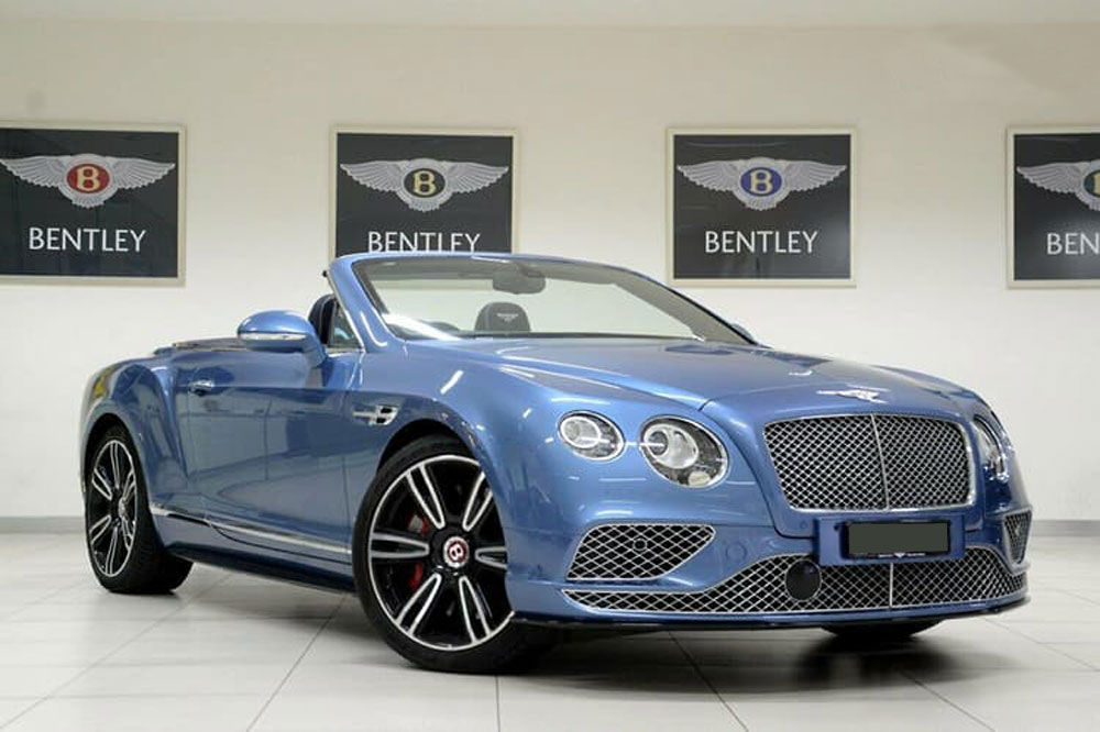 Bentley Continental GT - Prestige Car Rentals