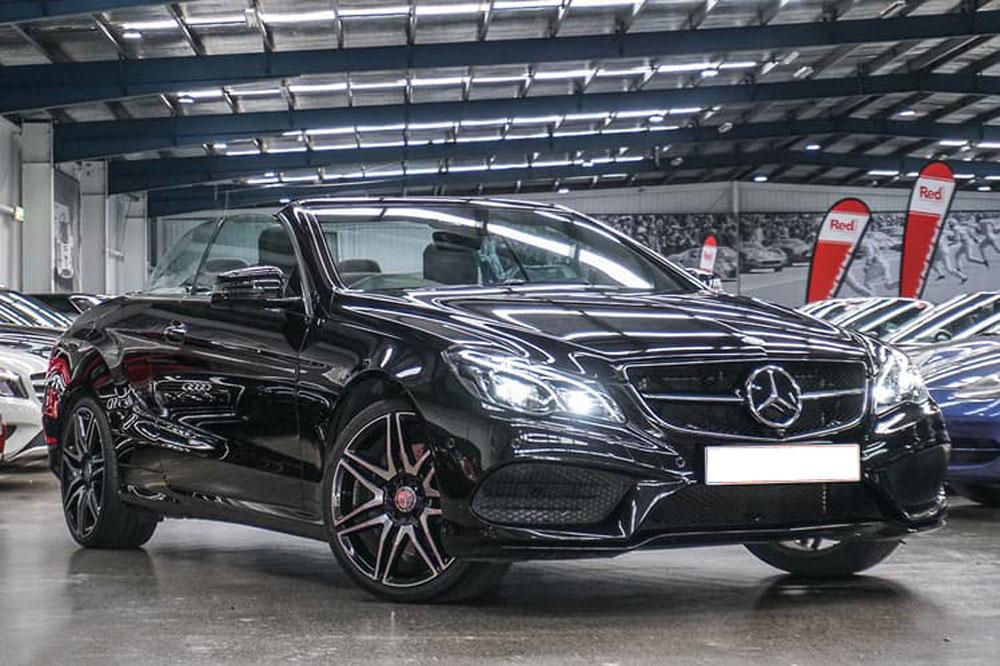 Mercedes E400 - Prestige Car Rentals