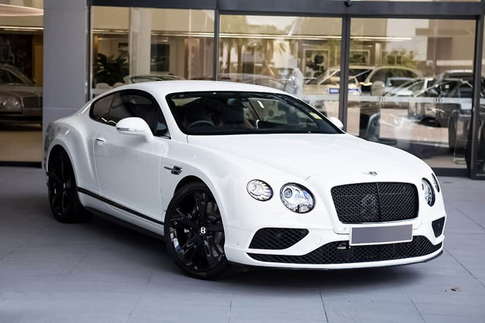 Bentley Continental GT Coupe 8 Cylinder 4.0L Turbo Petrol