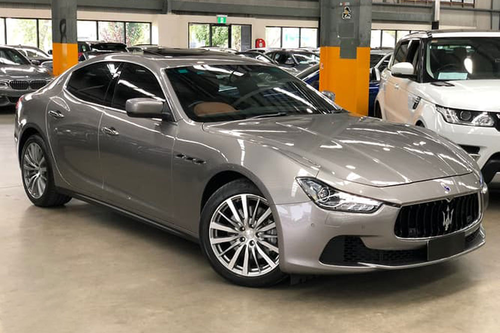 Maserati Ghibli</br>3.0L Twin Turbo V6
