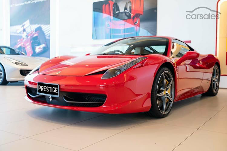 Ferrari 458 Italia </br> 4.5L Aspirated V8