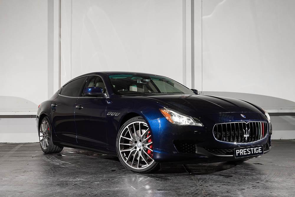 Maserati Quattroporte</br> 3.8L Twin Turbo V8