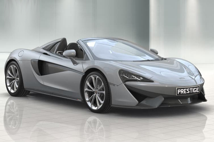 Mclaren 570s Coupe </br> 3.8L Twin Turbo Intercooled V8