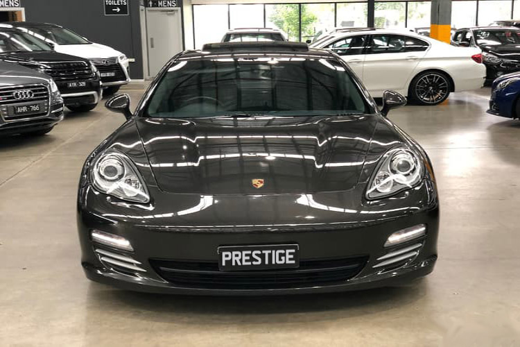 Porsche Panamera 44.8L Twin Turbo V8