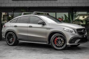 Mercedes-Benz GLE-Class</br>8cyl 5.5L Turbo Petrol