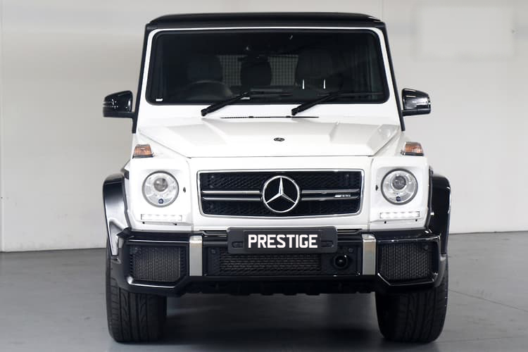 Mercedes G63 AMG </br> 5.5L Twin Turbo Intercooled V8